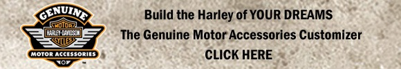 Harley-Davidson Genuine Motor Accessories Banner